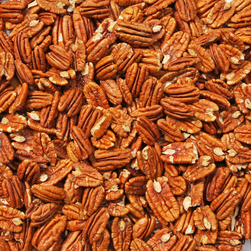 ORGANIC PECANS, fancy, large halves