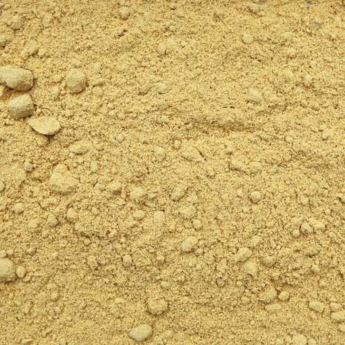 ORGANIC MUSTARD SEEDS, yellow, powder