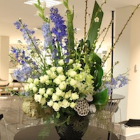 corporate event flowers sydney