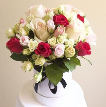 Luxe Rose Box Order Online Sydney Delivery Pure Flowers