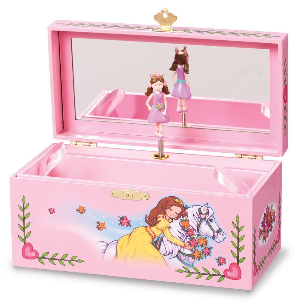 Child S Royal Garden Princess Musical Jewelry Box Homebello