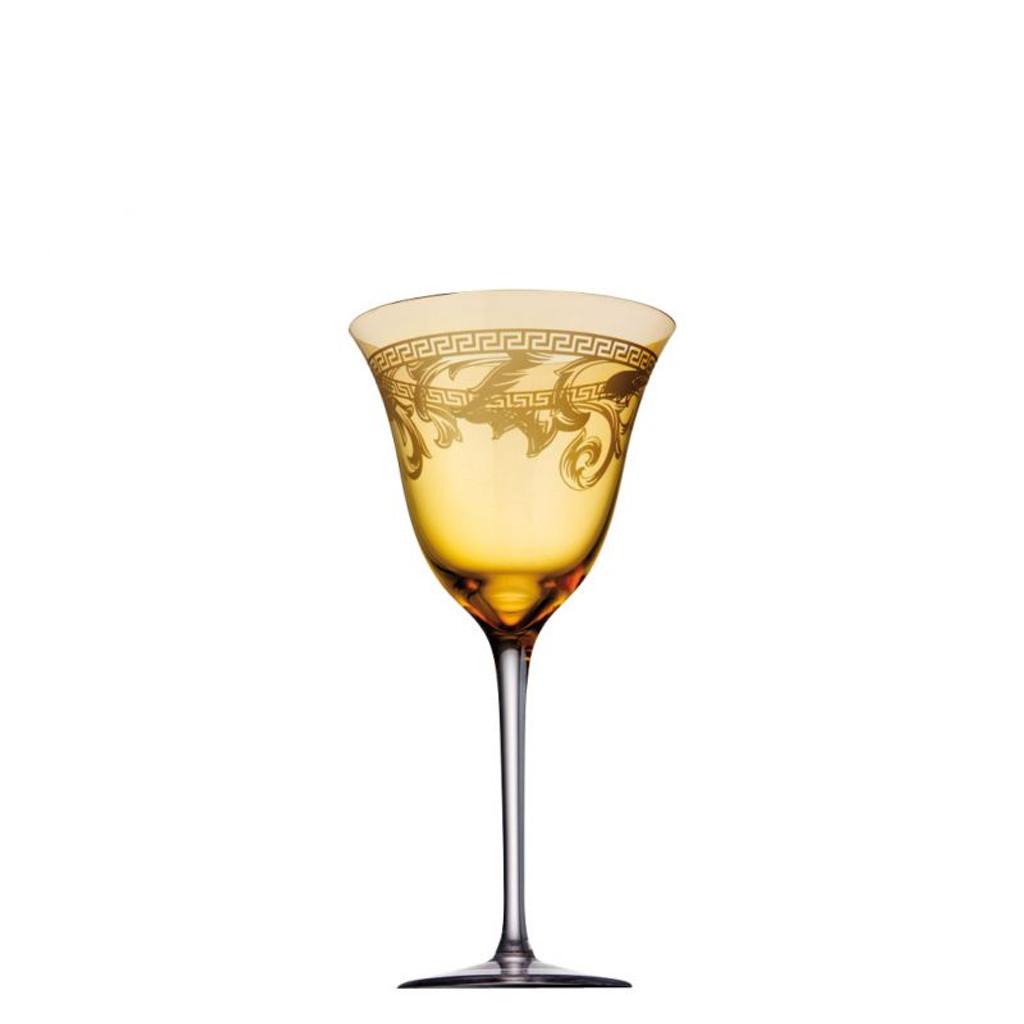 Versace Arabesque White Wine 9 ounce Amber