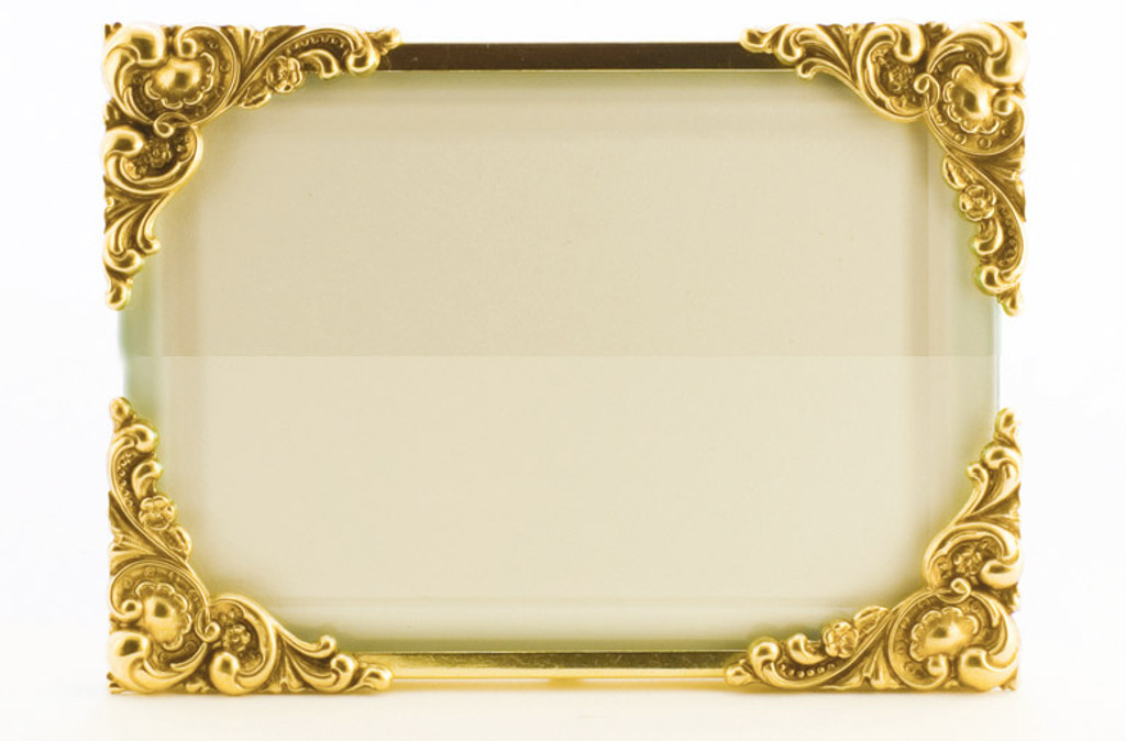La Paris Baroque 8 x 10 Inch Brass Picture Frame - Horizontal ...