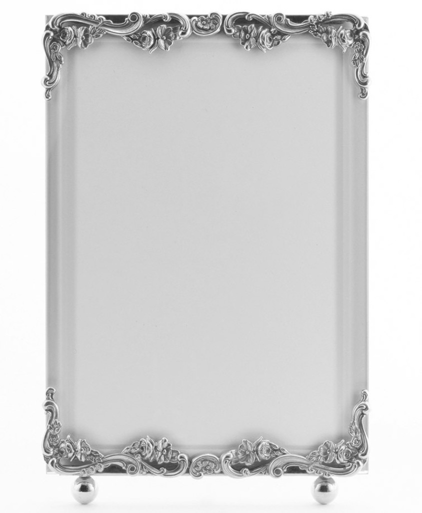 La Paris Country French 8 x 10 Inch Silver Plated Picture Frame ...