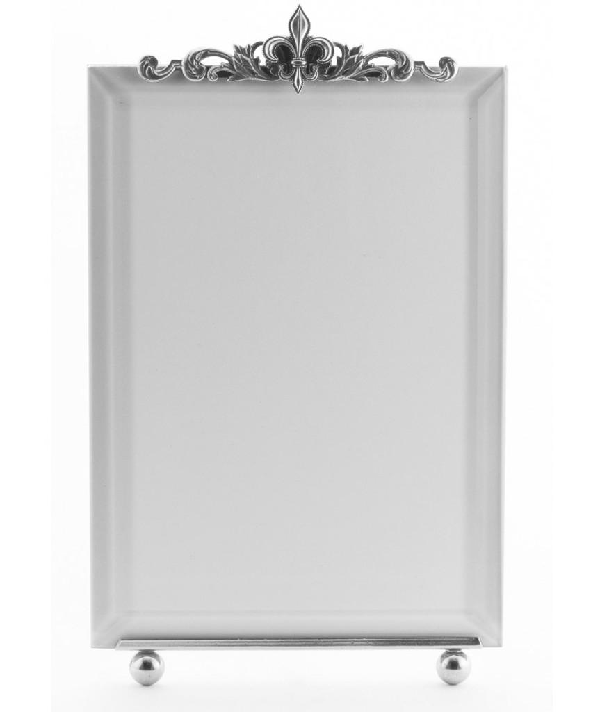 La Paris Fleur-De-Lis 8 x 10 Inch Silver Plated Picture Frame ...