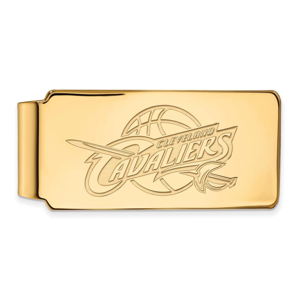 Cleveland Cavaliers Money Clip 10k Yellow Gold 1y018cav