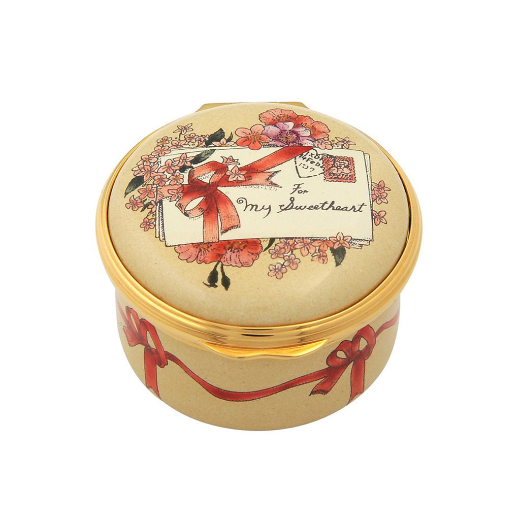Halcyon Days 2017 St Valentine Box ENSV170101G EAN: 5060171157755