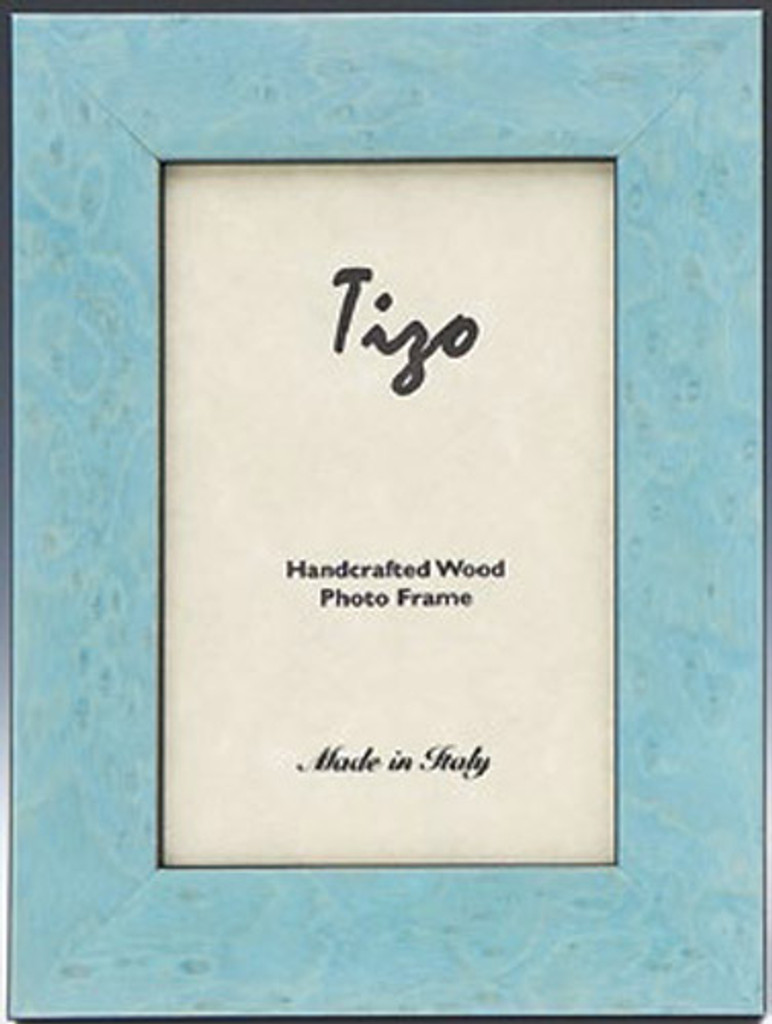 Tizo Pure Baby Blue Wooden Picture Frame 8 X 10 Inch Homebello