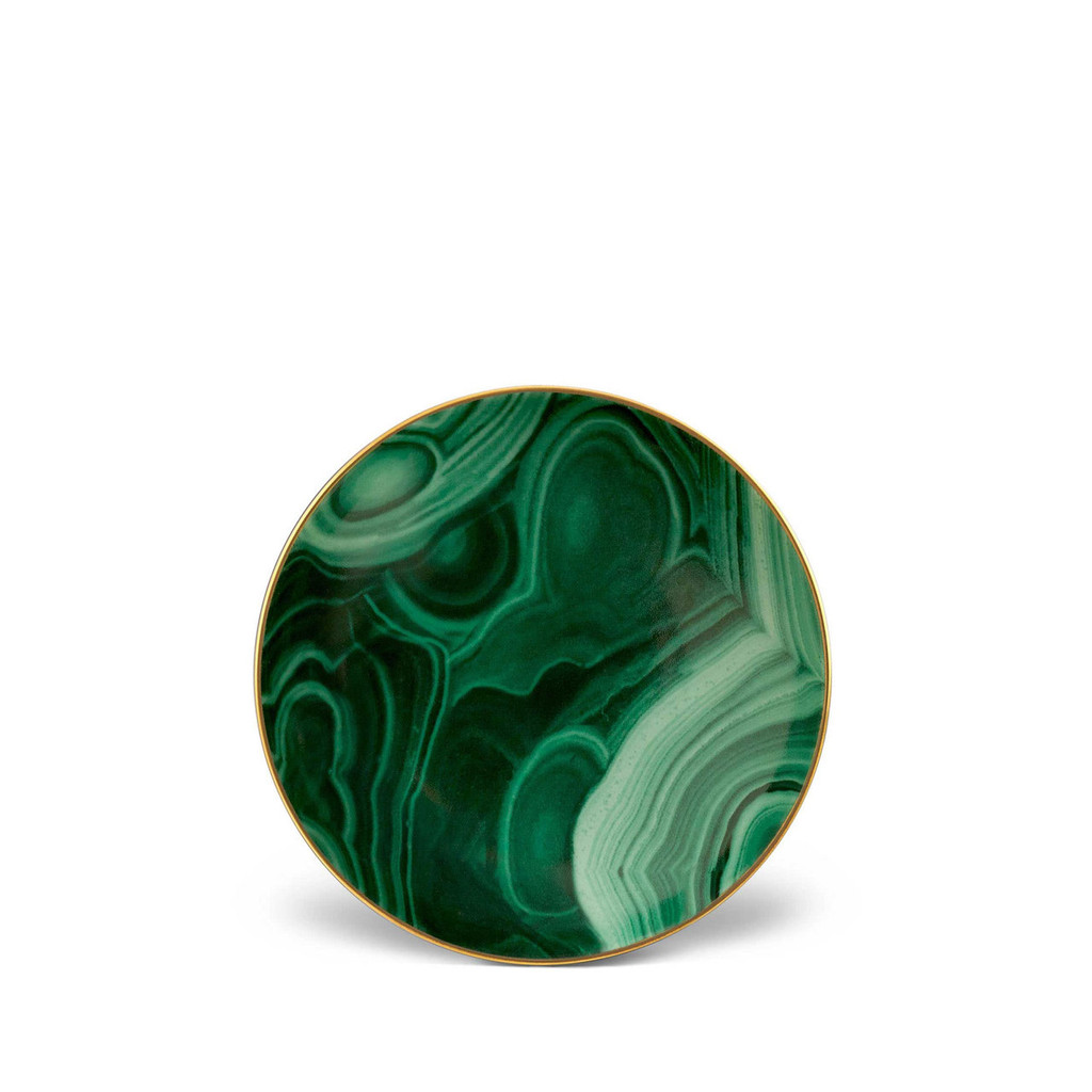 L'Objet Malachite Small Dish 5 Inch MPN: ML722