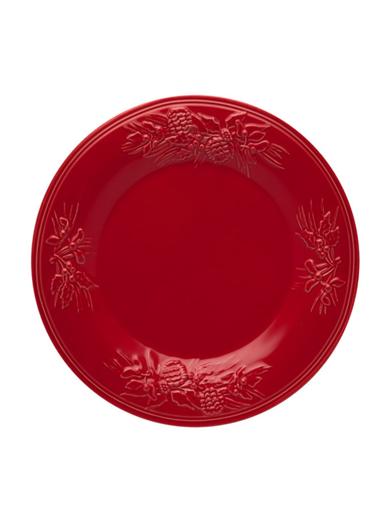 Bordallo Pinheiro Winter Red Dinner Plate MPN: 65016593 EAN: 5600876072863