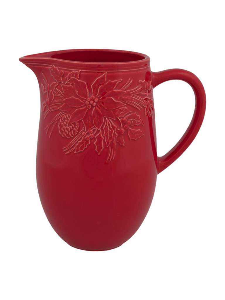 Bordallo Pinheiro Winter Red Pitcher MPN: 65016606 EAN: 5600876072924