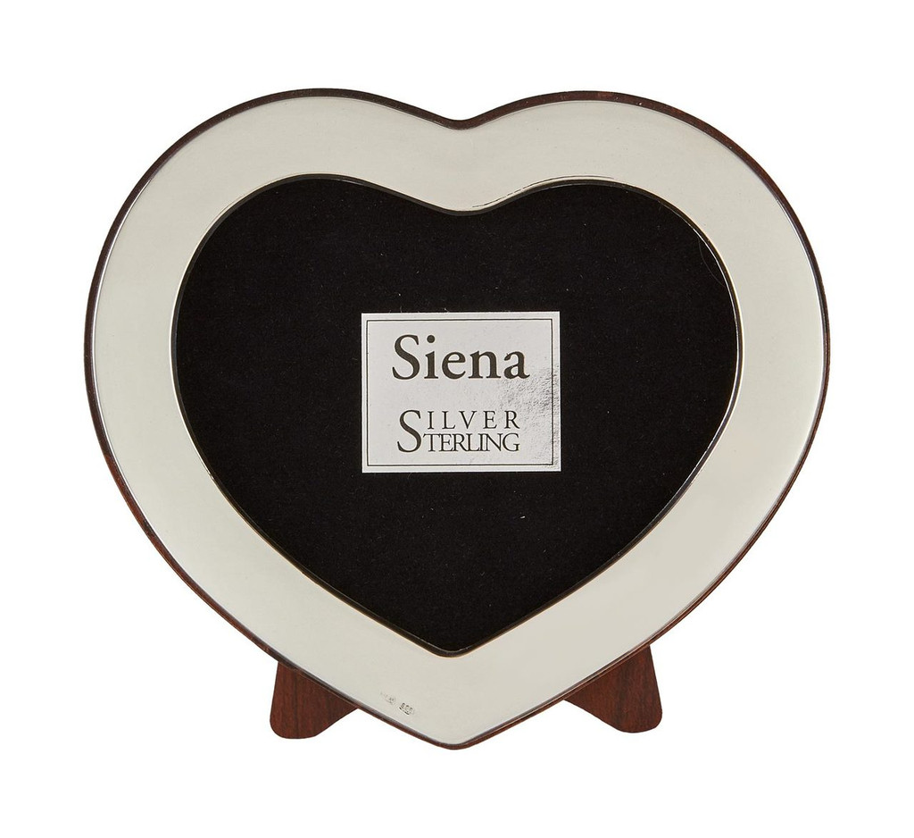 Tizo Cute Heart Sterling Silver Picture Frame 2 x 3 Inch, MPN:  1856-23