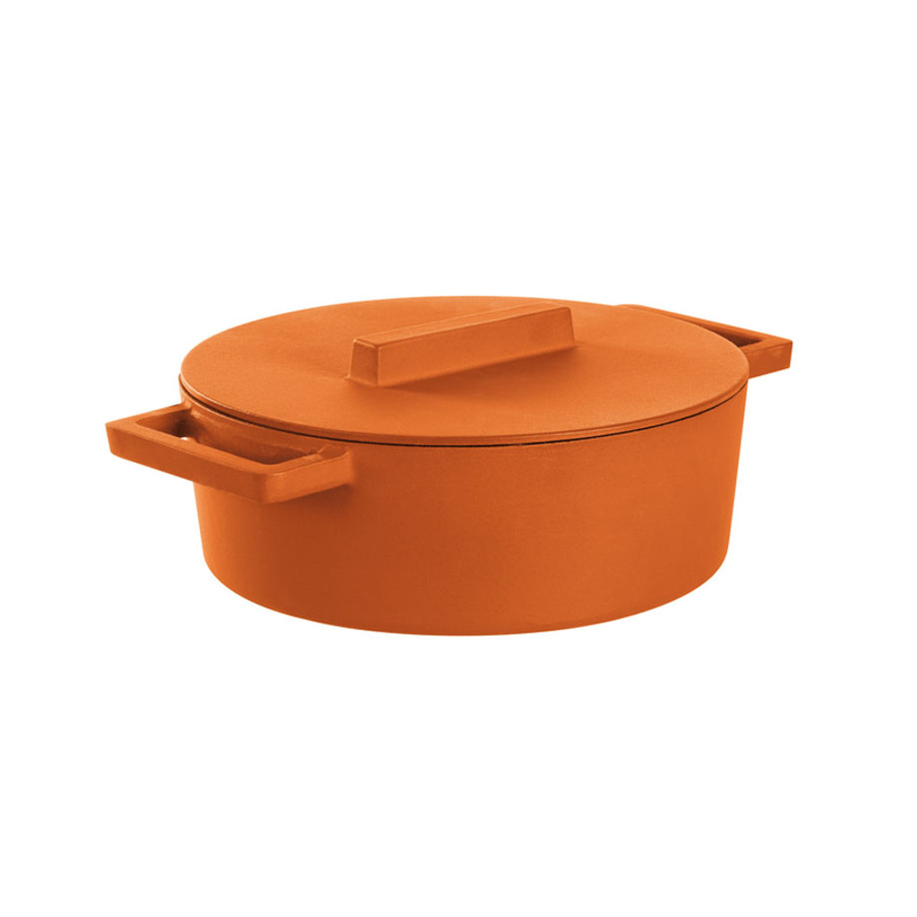 Sambonet TerraCotto Oval Casserole Pot With Lid Curry, MPN: 51638C30 UPC: 790955984578
