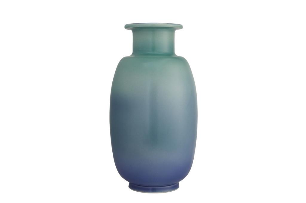 Mottahedeh Sung Verdigris & Blue Vase, MPN: R1504VB.