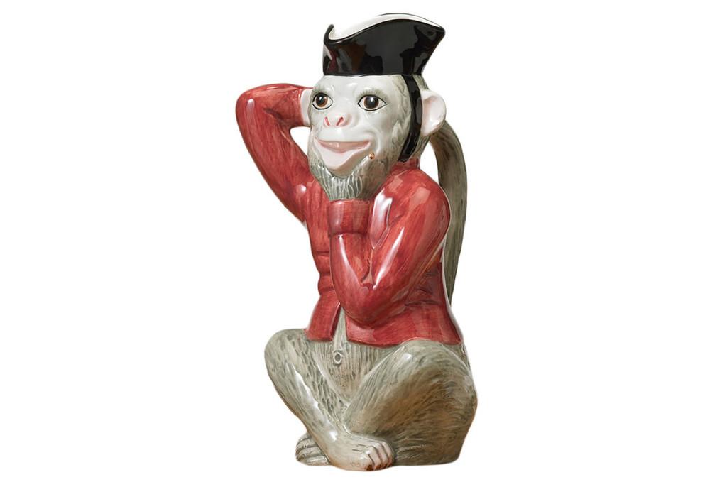 Mottahedeh Monkey Pitcher, MPN: MS8903.