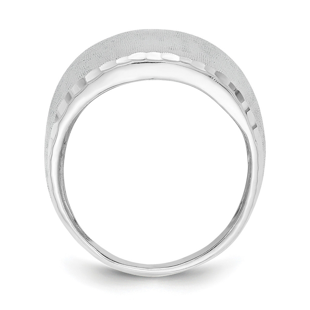 Size 6 Radiant Essence Ring Sterling Silver Rhodium Plated QLR114-6