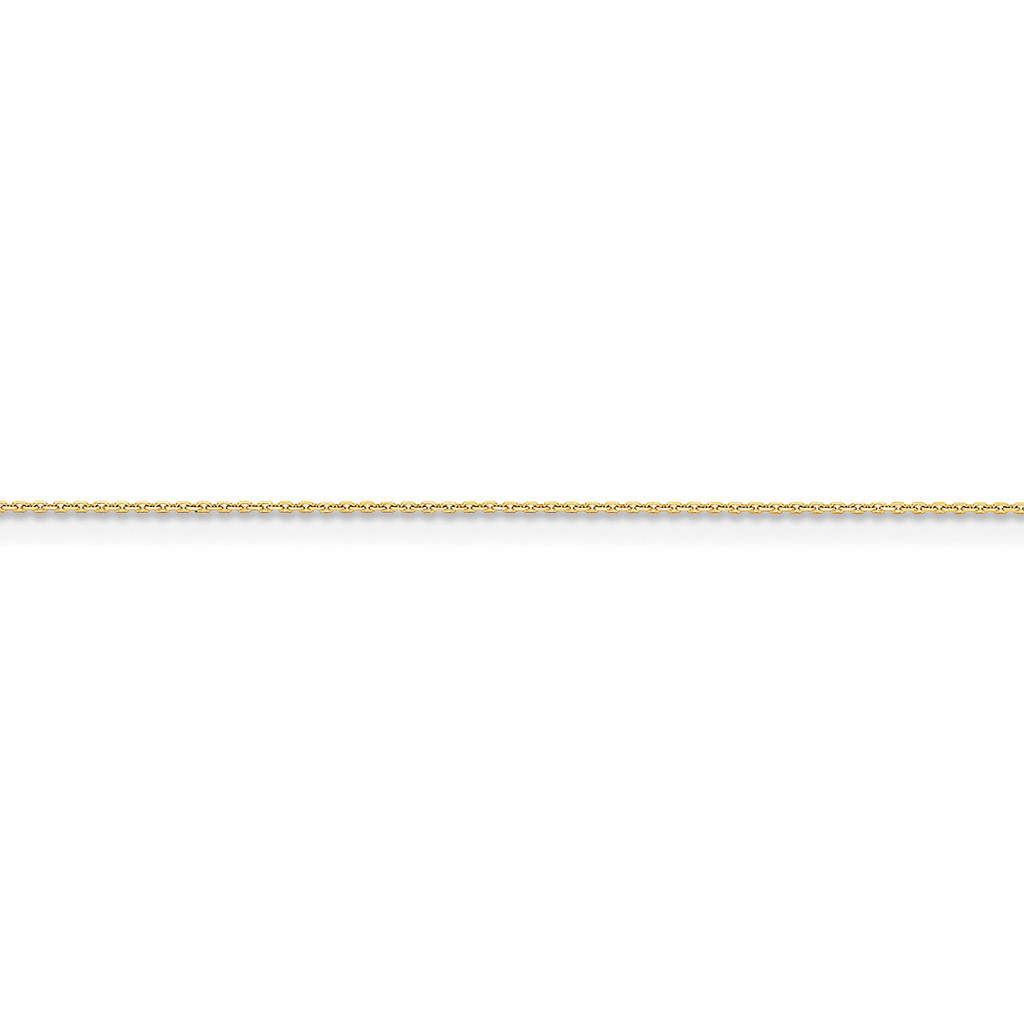 .95mm Diamond-cut Cable Chain 14k Gold, MPN: PEN17S, UPC: 886774419206
