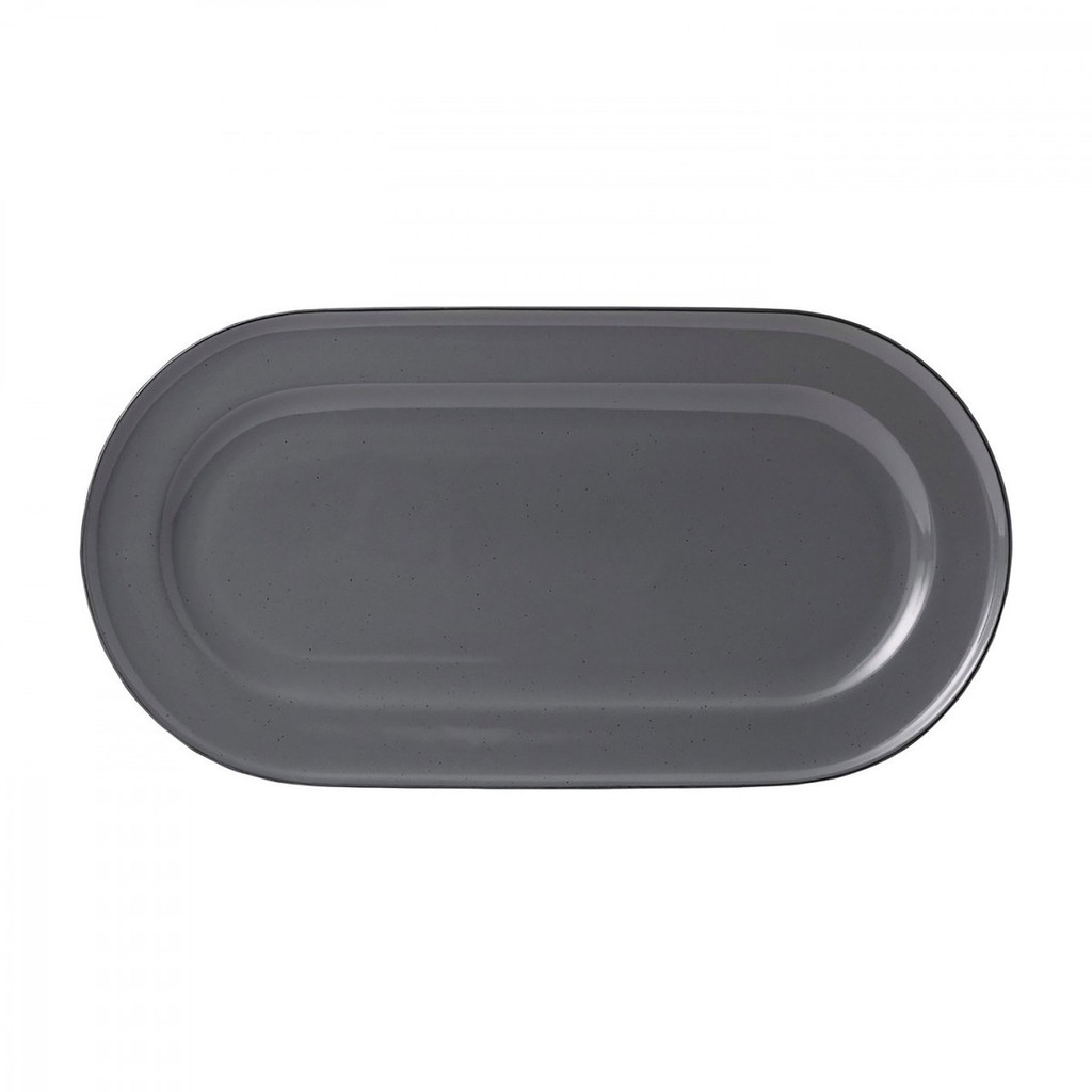 Royal Doulton Union Street CafŽ Grey Serving Platter 16.2 Inch MPN: 40033199 UPC: 701587394253