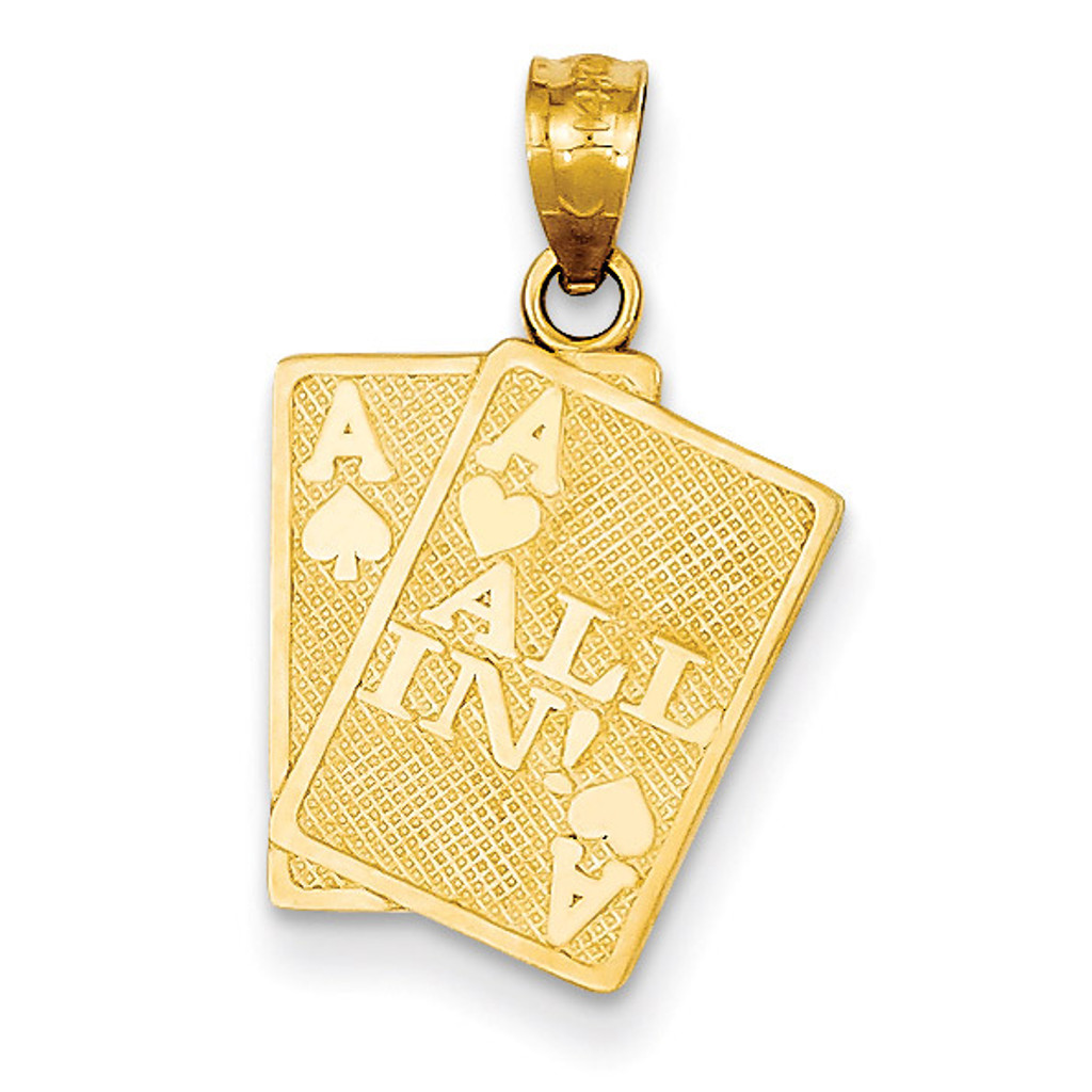 Ace of hearts ace of spade all in cards pendant 14k gold homebello ace of hearts ace of spade all in cards pendant 14k gold c3045 aloadofball Image collections