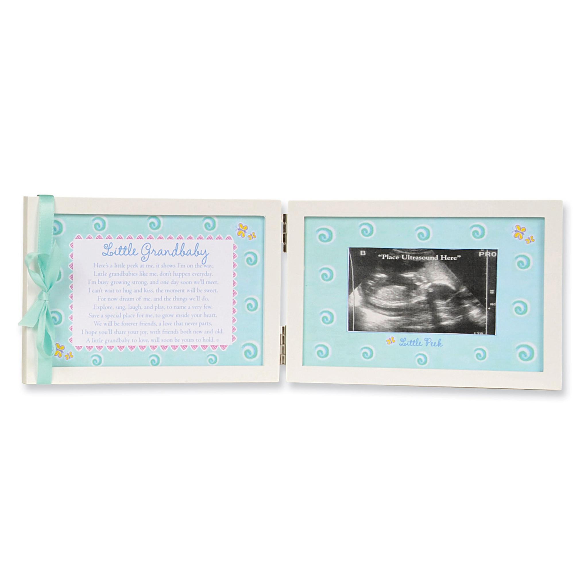 Little Grandbaby Ultrasound Tabletop Picture Frame - HomeBello
