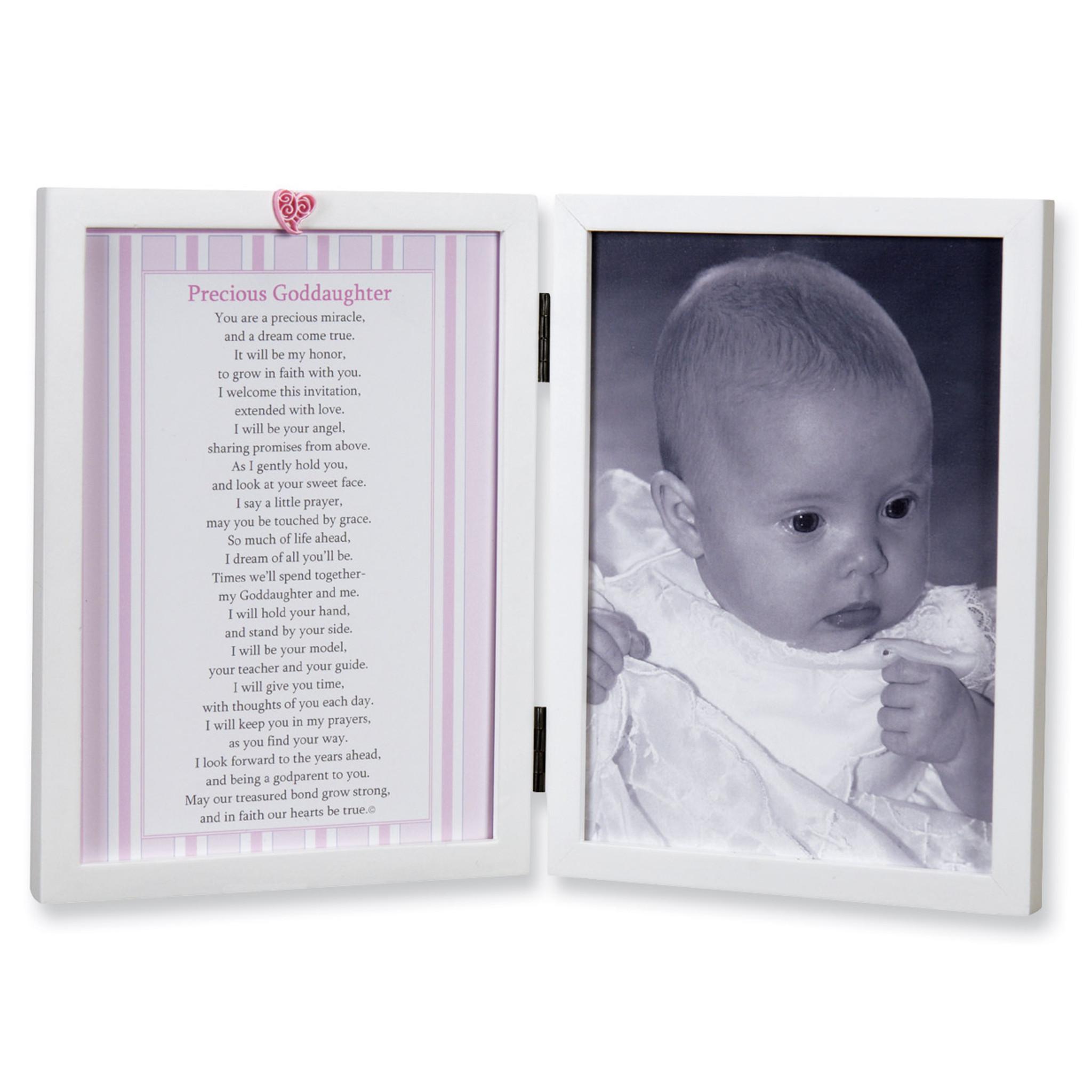 Precious Goddaughter 5 x 7 Inch Picture Frame - HomeBello