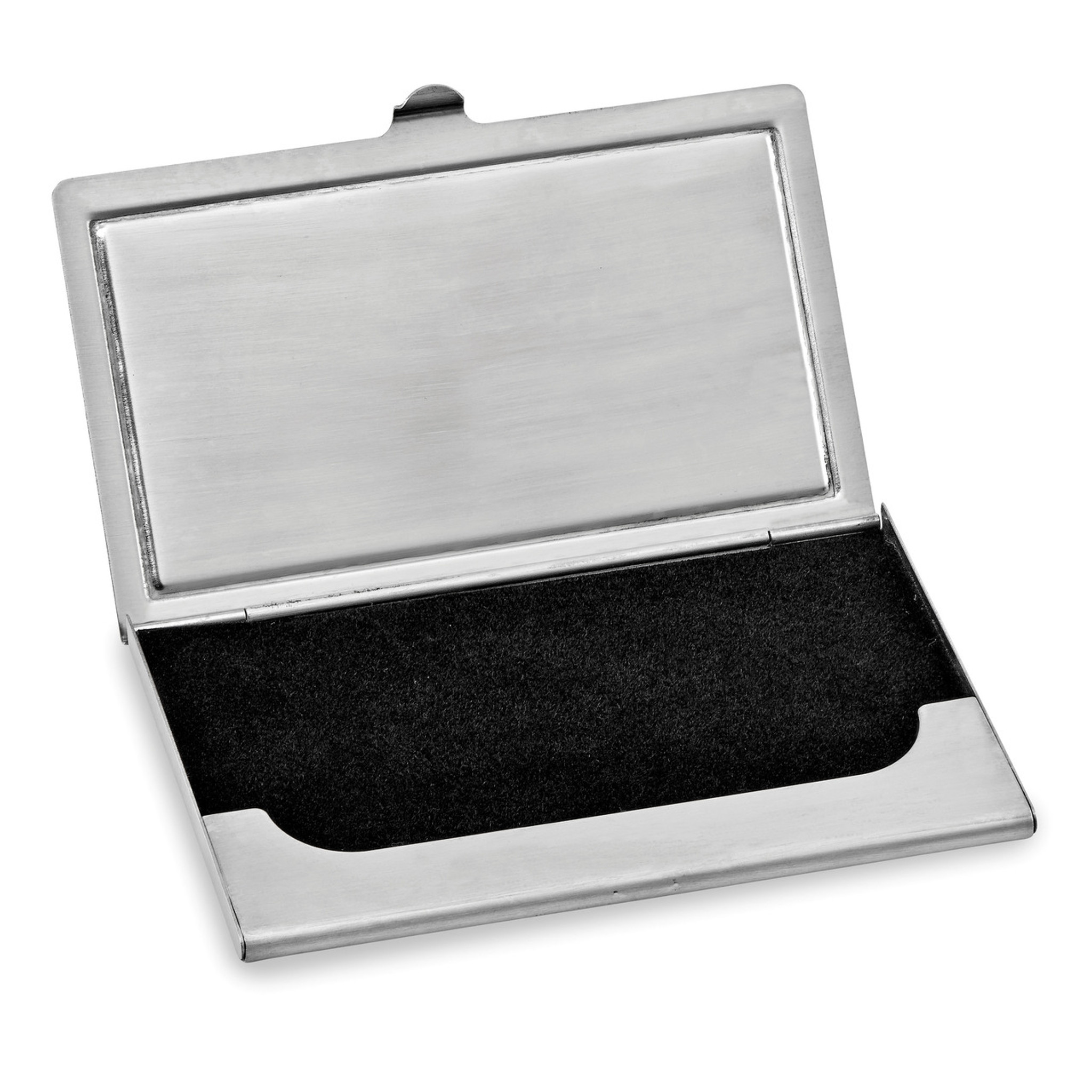 Black And White Swarovski Crystal Business Card Case
