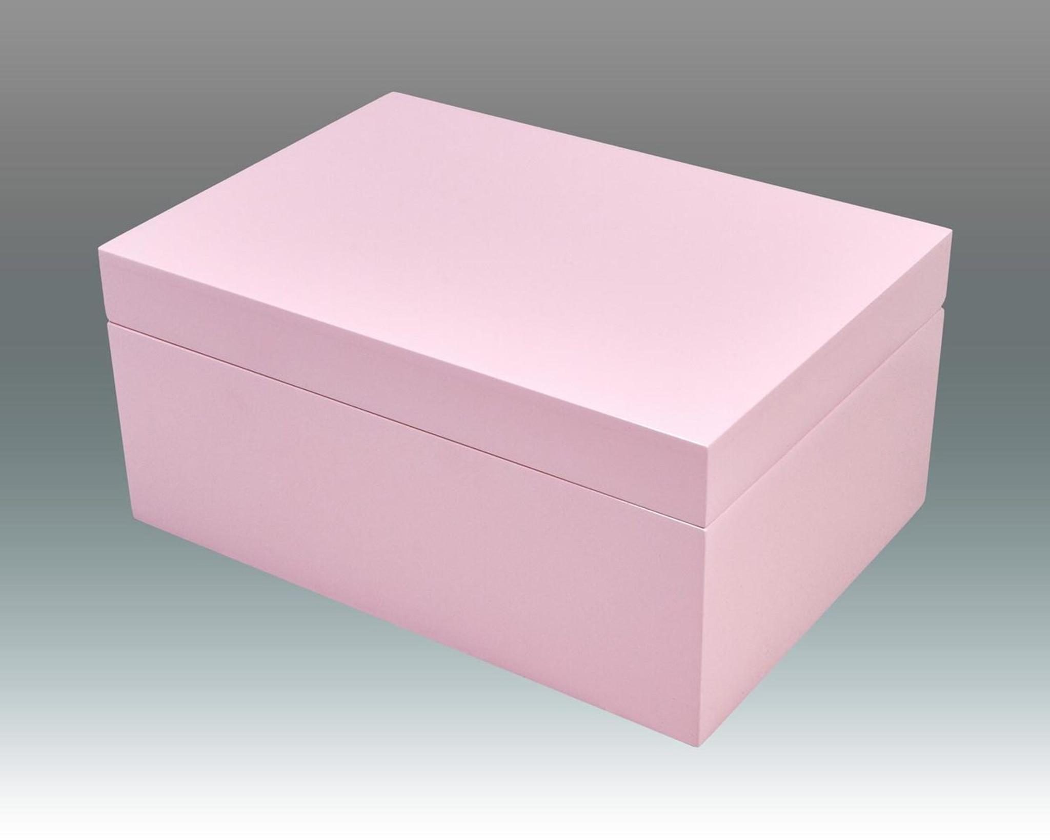 Tizo Jewelry Box with Tray Pink HomeBello
