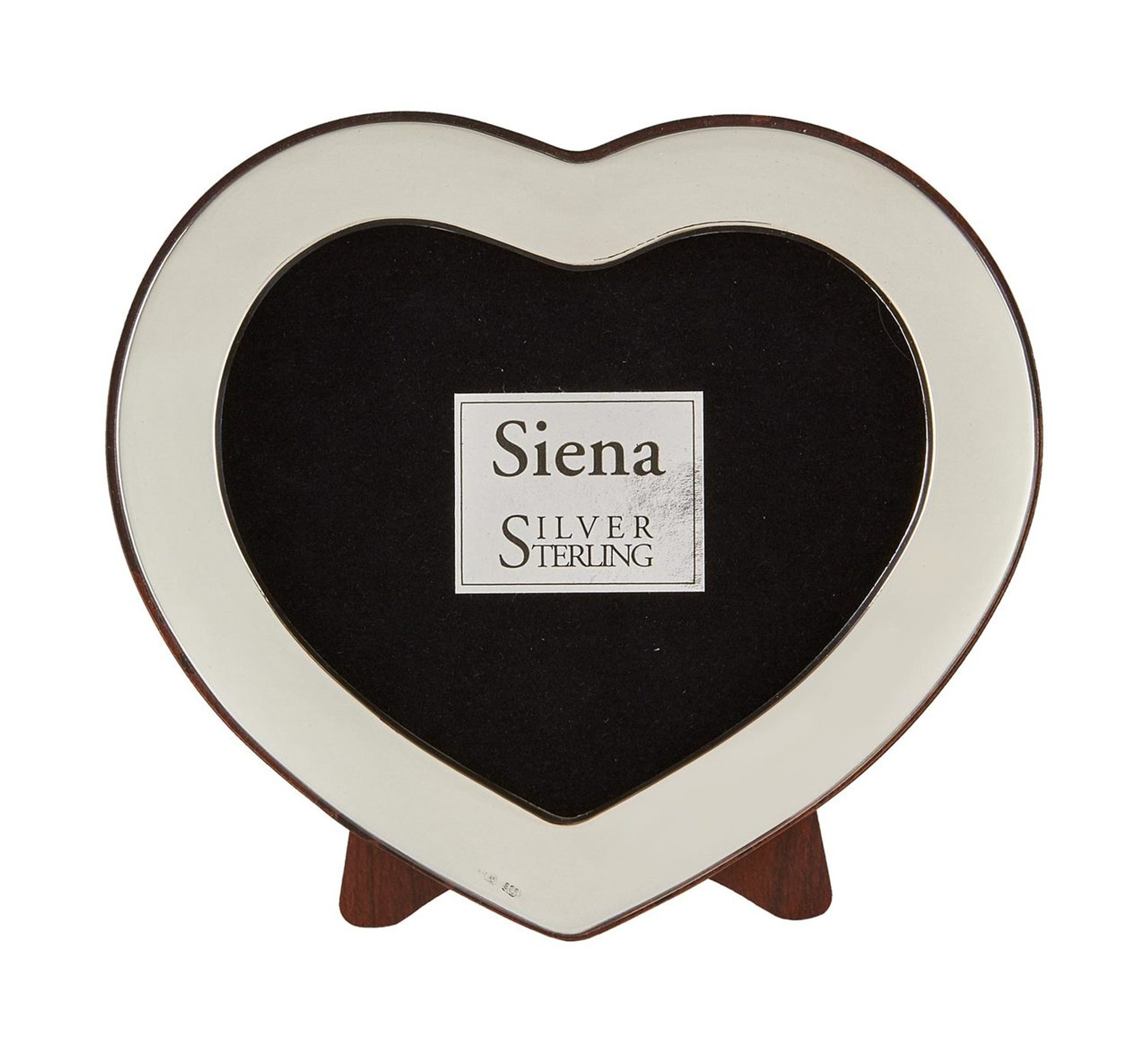 Tizo Cute Heart Sterling Silver Picture Frame 2 x 3 Inch 1856-23 ...