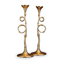 L'Objet Evoca Candlestick Gold (Set Of 2) MPN: EC24