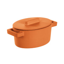 Sambonet TerraCotto Oval Casserole With Lid Curry, MPN: 51638C13 UPC: 790955987876