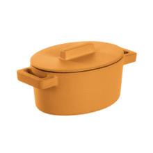 Sambonet TerraCotto Oval Casserole With Lid Vanilla, MPN: 51638V13 UPC: 790955987883