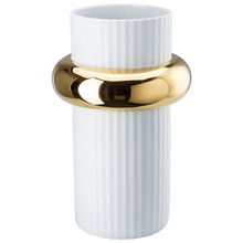 Rosenthal Ode Gold Vase 15 Inch 14476-426270-26038, MPN: 14476-426270-26038, UPC: 790955051683