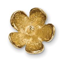 Pearl Cap Dangle Finding 14k Gold YG4882
