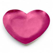 "Mary Jurek Symphony Pink Orchid Enamel Heart 7"" MPN: SYPH007.1, UPC: 817658014637"