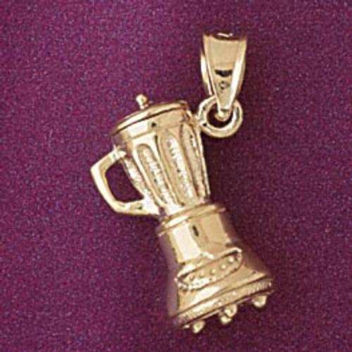 Blender Pendant Necklace Charm Bracelet in Gold or Silver 6960