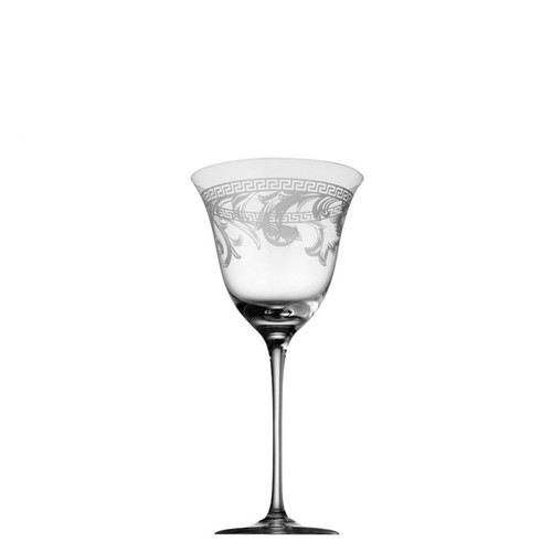 Versace Arabesque Red Wine 14 ounce Clear