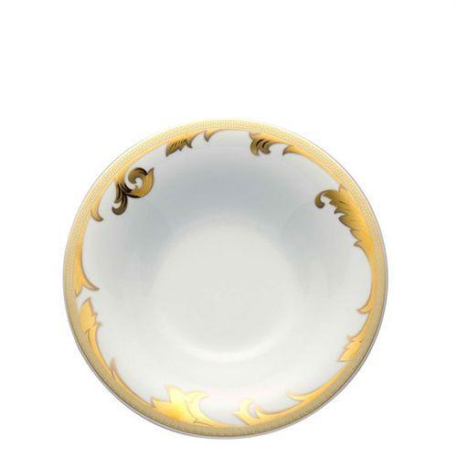 Versace Arabesque Gold Rim Soup 9 1/2 inch