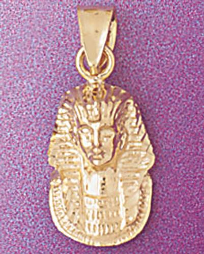 Egyptian Pharaoh Pendant Necklace Charm Bracelet in Gold or Silver 4796