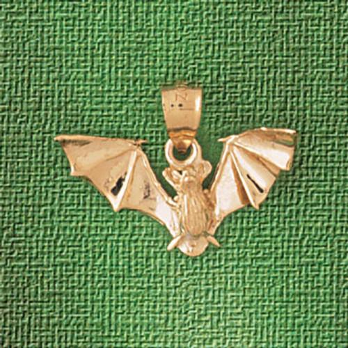 Bat Pendant Necklace Charm Bracelet in Gold or Silver 2441
