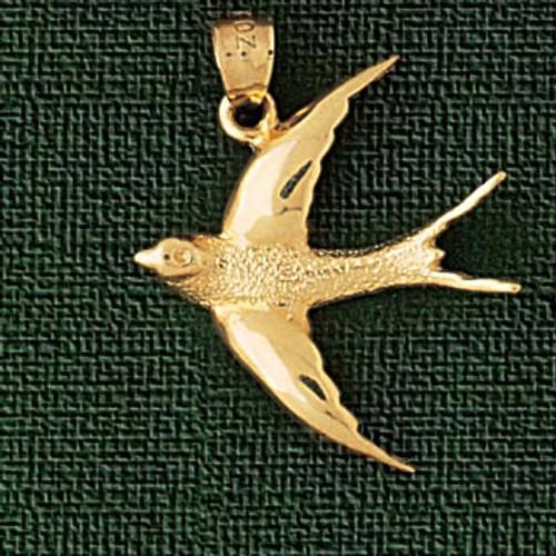 Kiwi bird charm bracelet or pendant necklace in 14k gold or silver bird pendant necklace charm bracelet in gold or silver 2923 aloadofball Gallery