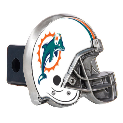 Dolphins Helmet Trailer Hitch Cover GC3625
