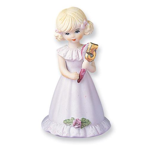 Blonde Age 5 Porcelain Figurine GL632