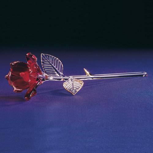 Red Rose Glass Figurine GL863