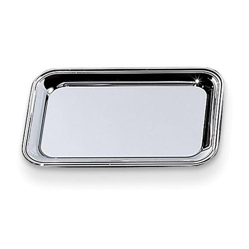Nickel-plated 6x9 Rectangular Cash Tray GM10004
