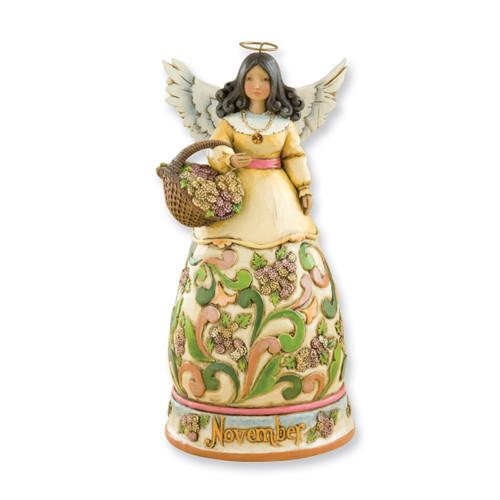 Heartwood Creek November Angel Figurine GM3379
