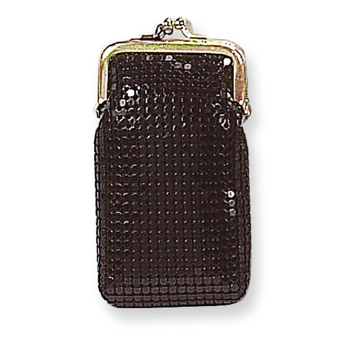 Black Sequin Cigarette Case GM4871