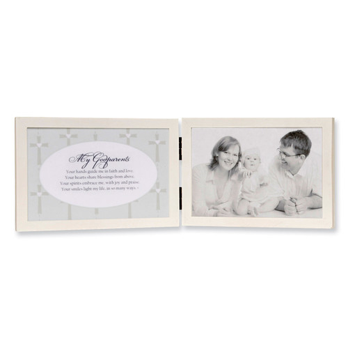 My Godparents Sentiment 6 x 4 Inch Picture Frame GM6021
