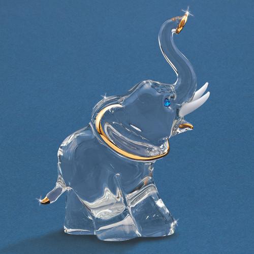 Elephant Glass Figurine GM6728