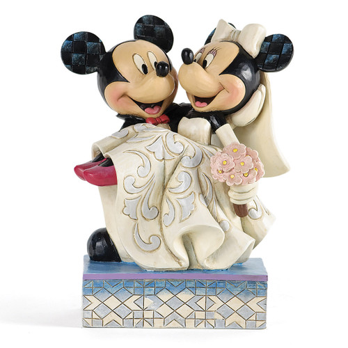 Disney Traditions Mickey & Minnie Wedding Figurine GM9463