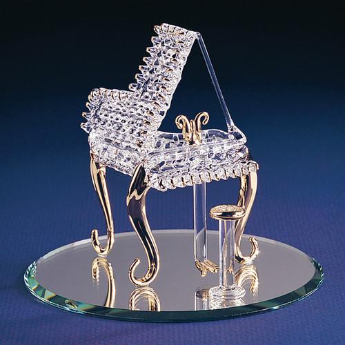 Baby Grand Piano Glass Figurine GP1166